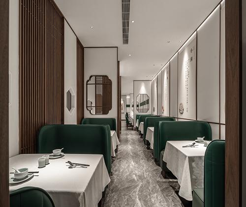 郑州半勺餐厅装修设计