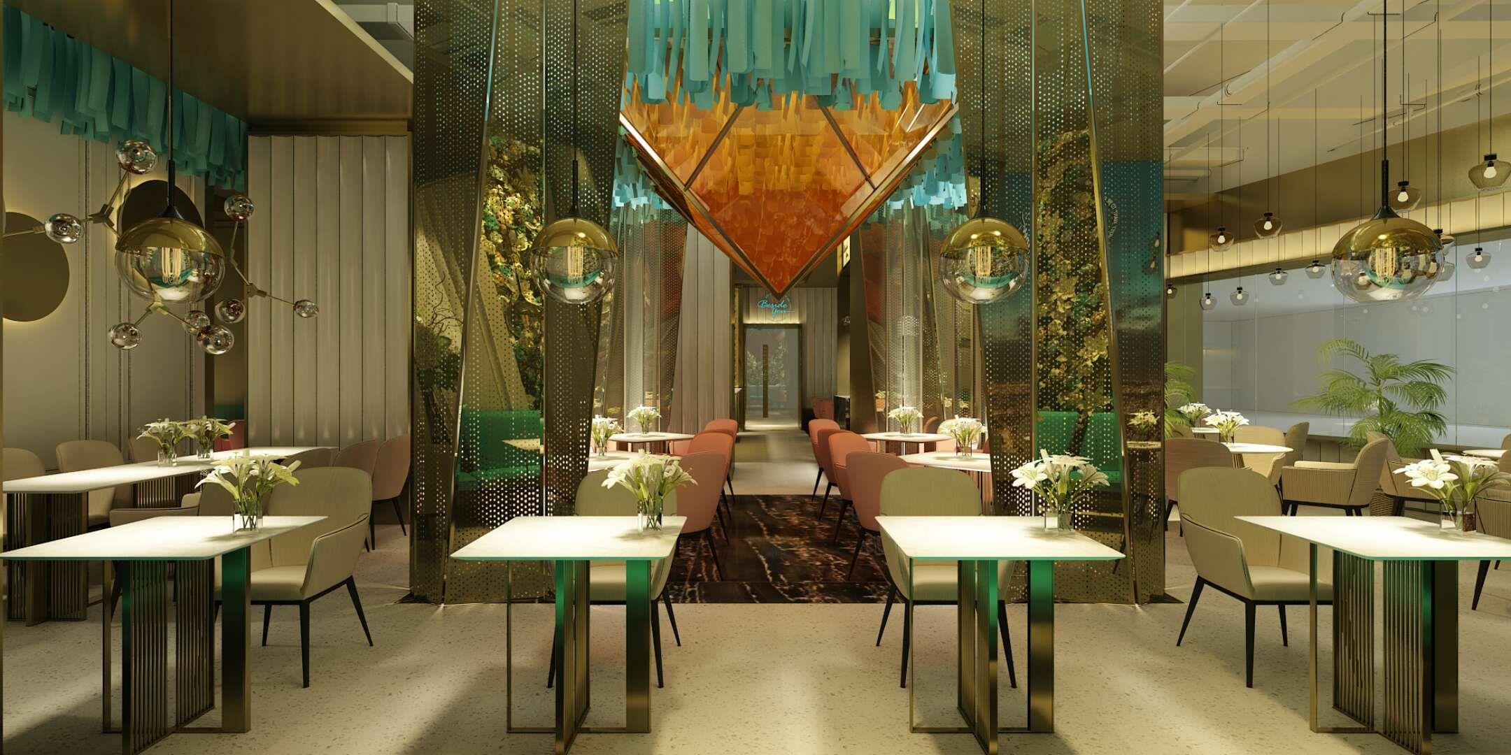 郑州西餐厅设计装修图片