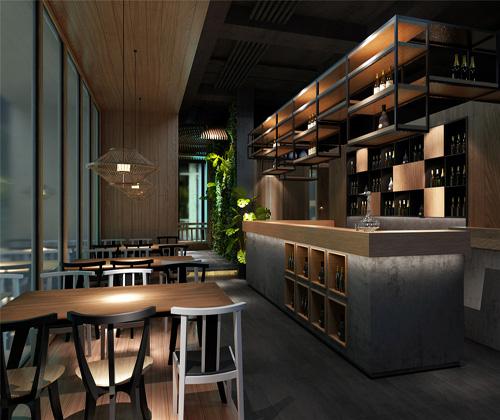 郑州中式餐厅设计效果