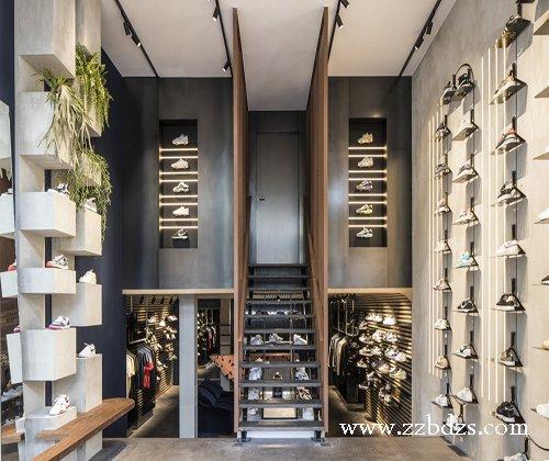 郑州鞋店专卖店装修