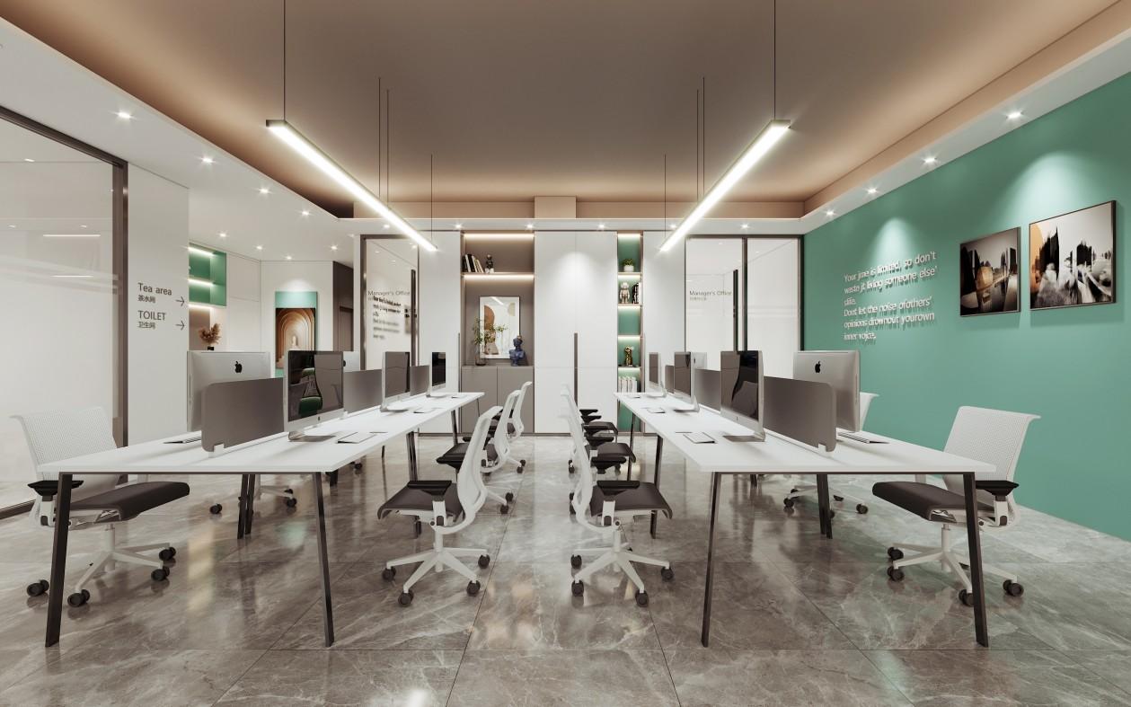 开放办公区设计效