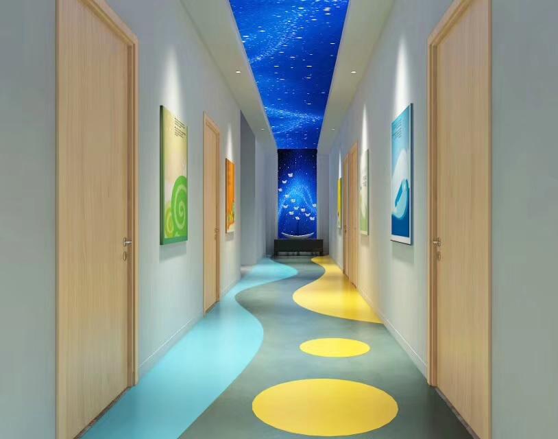 郑州早教中心装修设计时融入教育元素让孩子耳濡目染!
