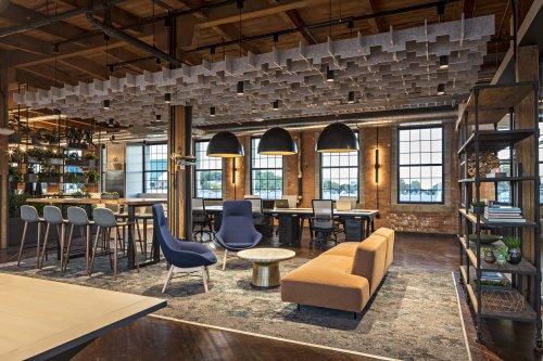 郑州办公室室内装修风格常见的几种行业
