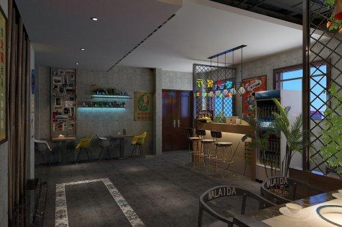 郑州餐饮店装修怎么布置内部的家具?