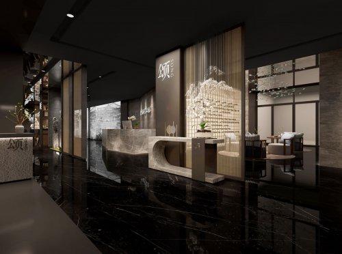 郑州中餐厅装修实景图片