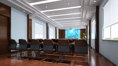 郑州会议室装修设计图片