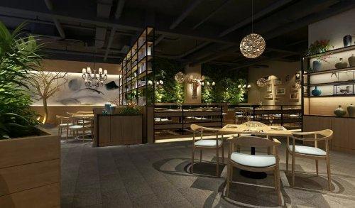 郑州茶餐厅装修设计图片
