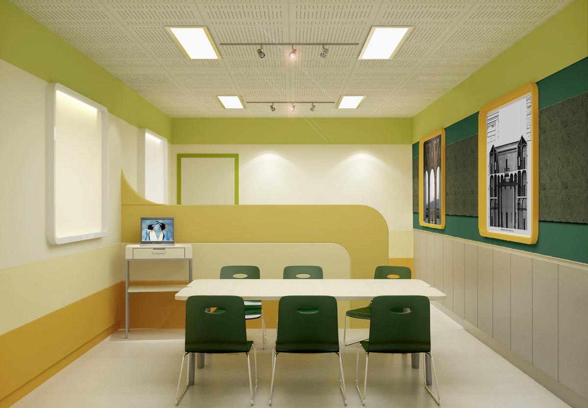 郑州艺术类培训学校装修如何设计,辅导机构装修设计的留意事项