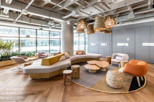 有关郑州办公室装修成功案例的借鉴价值